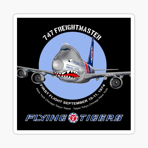 FLYING TIGERS Sticker