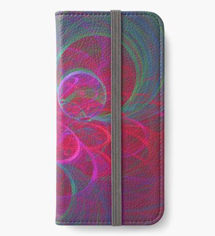 Orbital fractals iPhone Wallet