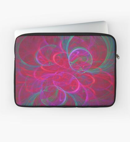 Orbital fractals Laptop Sleeve