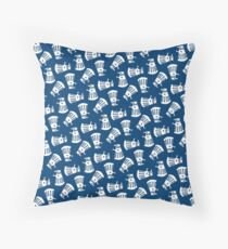 Doctor Who Dalek Pattern Throw Pillow