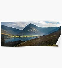Fleetwith Pike, Buttermere - The Lake District Poster