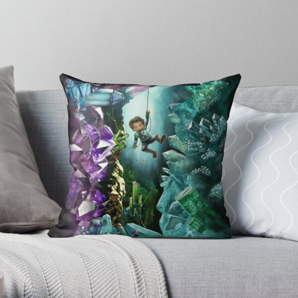 Crystal Cave Boy Coussin