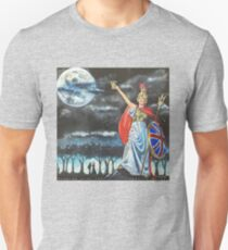 """Genesis Fanart """"Dancing With The Moonlit Knight"""" from """"Selling England By The Pound"""" by Frank Grabowski Unisex T-Shirt"""