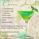 Cocktail Quartet Green Angel by mindydidit