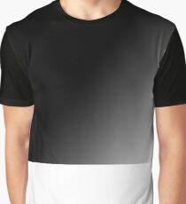 Black Gradient Graphic T-Shirt