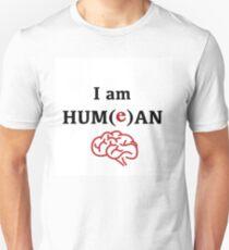 David Hume Philosophy Fanart - I Am Hum(e)an Unisex T-Shirt