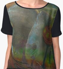 Cosmic Fish Women's Chiffon Top
