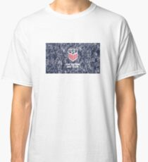 US-amerikanischer Fußball - Eine Nation. Eine Mannschaft Classic T-Shirt