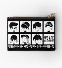 BTS WE ARE BULLETPROOF Chibi Studio Pouch