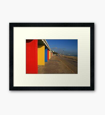 Winter Colours Framed Print