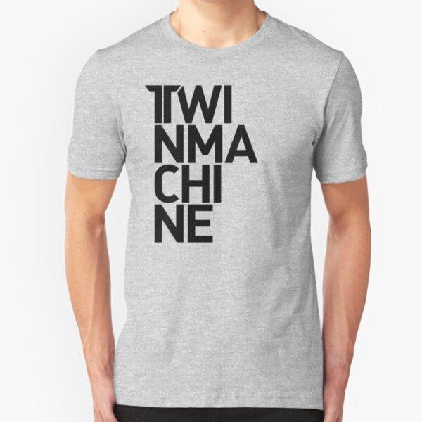 Twinmachine Heavy Logotype Slim Fit T-Shirt