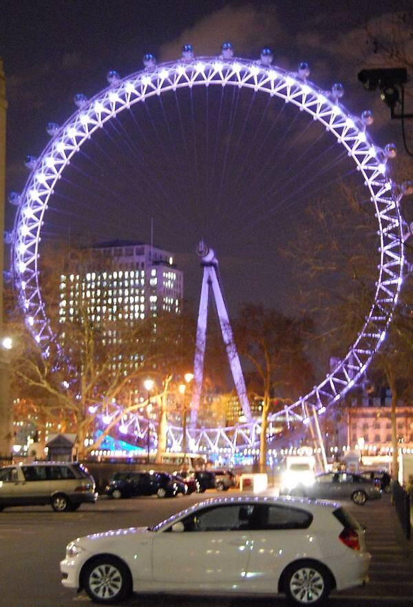 millenium wheel victoria london  by cool3water