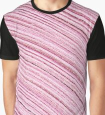 A Roll Of Pink Ribbon - Macro  Graphic T-Shirt