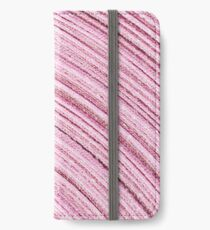 A Roll Of Pink Ribbon - Macro  iPhone Wallet/Case/Skin