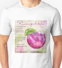 Cocktail Quartet Rasmopolitan Unisex T-Shirt