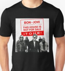 JOVI BON THIS HOUSE NOT FOR SALE WHITE GEDONG T-Shirt