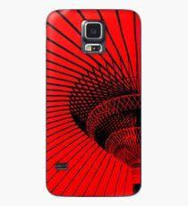RED Case/Skin for Samsung Galaxy