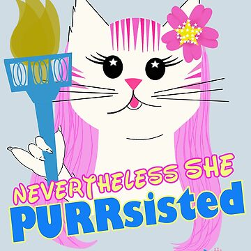 She PURRsisted by maggieziffel