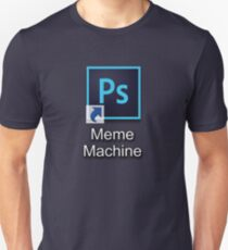 Photoshop Meme Machine Unisex T-Shirt