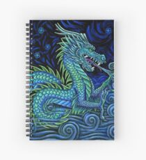 Chinese Azure Dragon Spiral Notebook