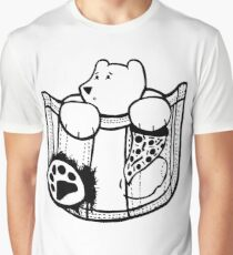 Pocket Bear Graphic T-Shirt