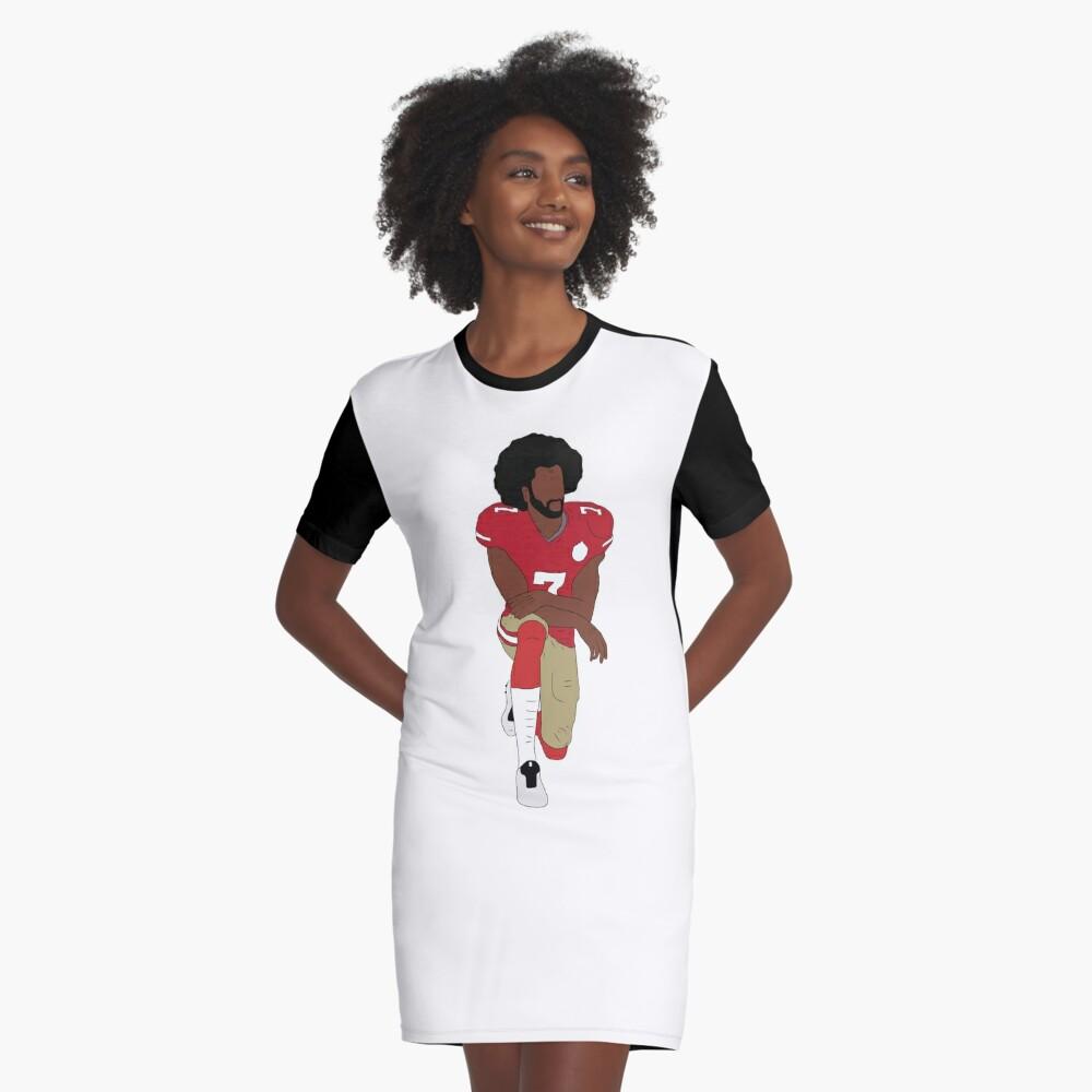 Colin Kaepernick se arrodilla Vestido camiseta