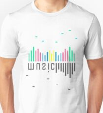 Two sides of music Unisex T-Shirt