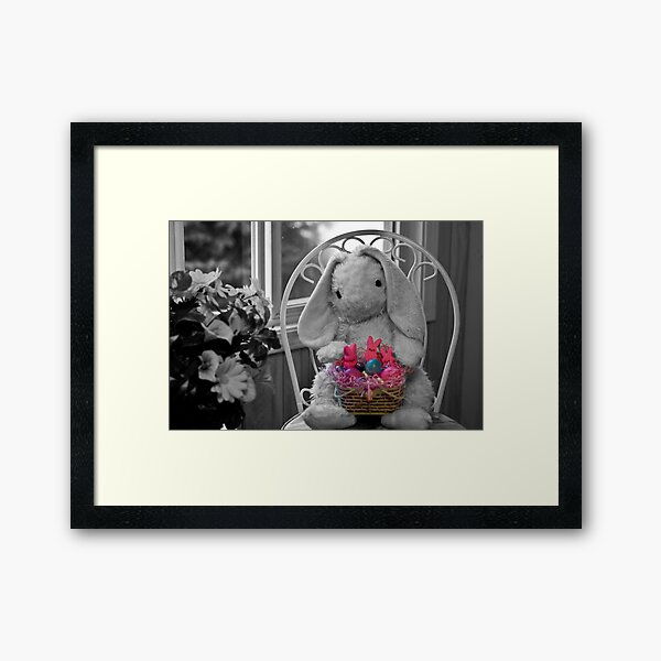 Happy Easter everyone!!! Framed Art Print