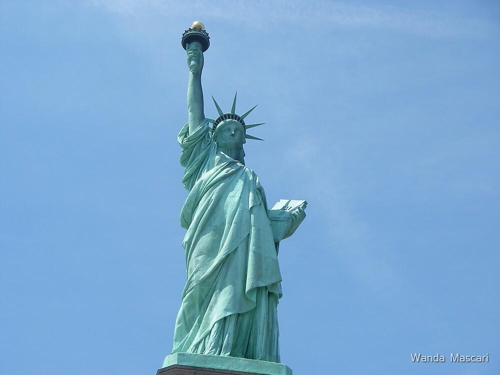 Statue of Liberty - Closeup      by Wanda  Mascari