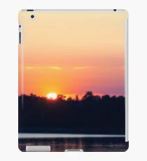 Scandinavia, sunset on sea and tranquil evening iPad Case/Skin