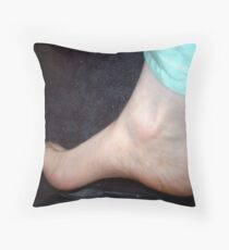 Naked flesh :> ohhh yeah Cheesy Throw Pillow