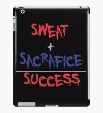 Martial Arts Training Motivational Quote iPad Case/Skin