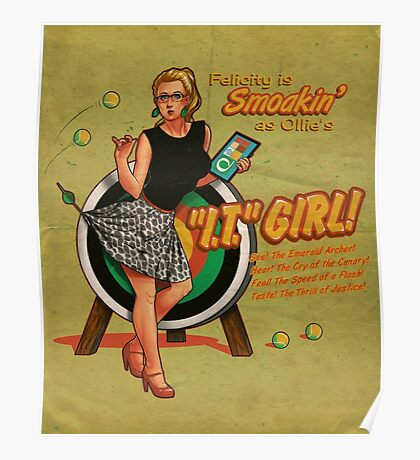 """The """"I.T."""" Girl Poster"""