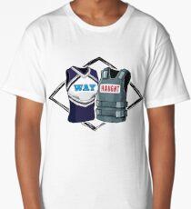 Wayhaught Vests - Blue and Grey Long T-Shirt