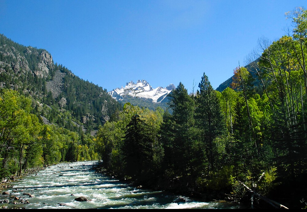 A River Rushing by Sylmac