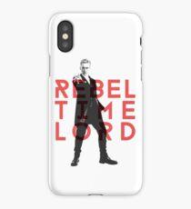 Rebel Time Lord iPhone Case/Skin