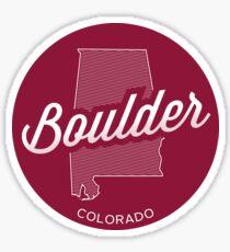 Boulder, Colorado Sticker