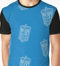 The Tardis Graphic T-Shirt