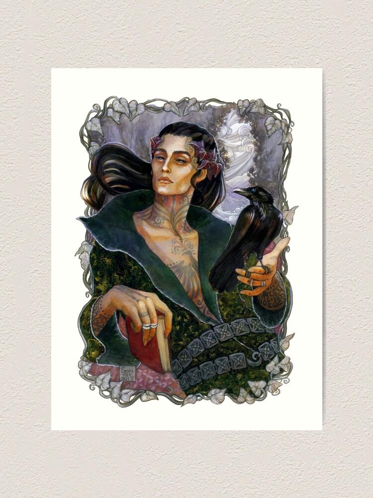 Alternate view of The Raven King Art Print