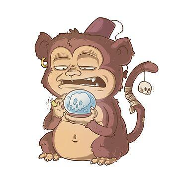 Mystic Monkey by allanohr