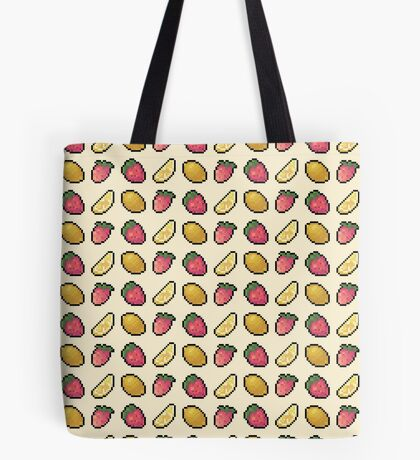 Lemon and Strawberry Tote Bag