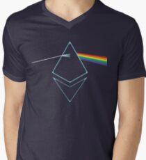 Ethereum Prism Men's V-Neck T-Shirt