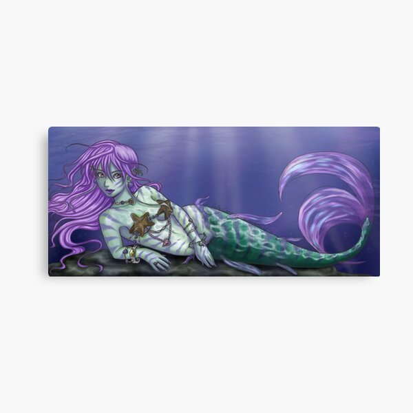 Maya the Mystical Mermaid Canvas Print