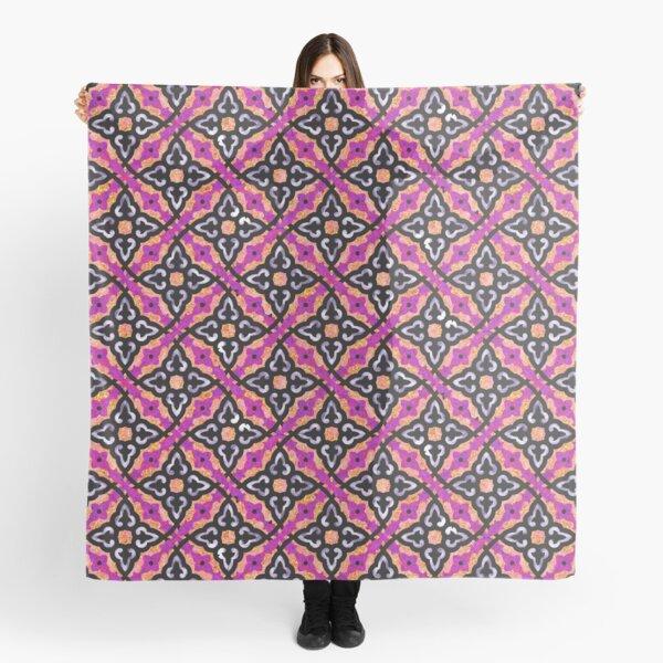 Purple pattern (Burberry style) Scarf