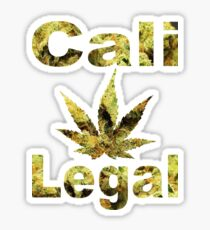 Cali-Legal Bud Type Sticker