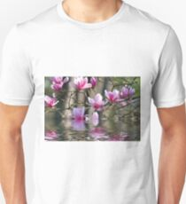 Japanese Magnolia in Water T-Shirt