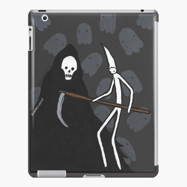Tim Meets the Grim Reaper iPad Snap Case