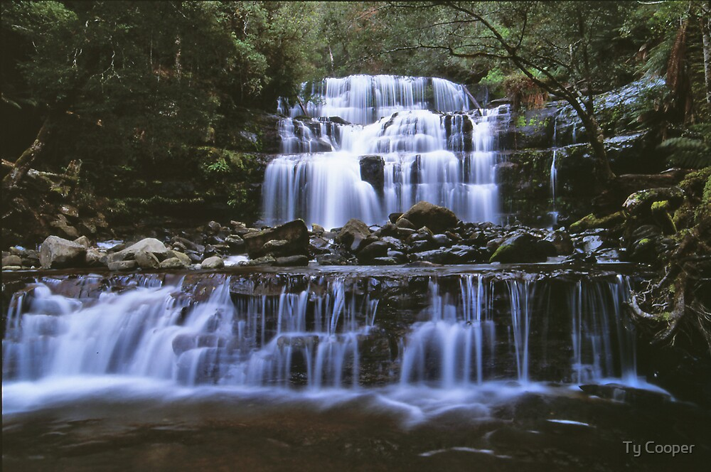 liffey falls by Ty Cooper