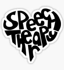 Speech Pathology Love Sticker