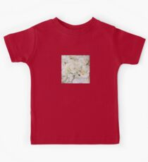 Abstract - Floral Neutral - All Over Print Kids Tee